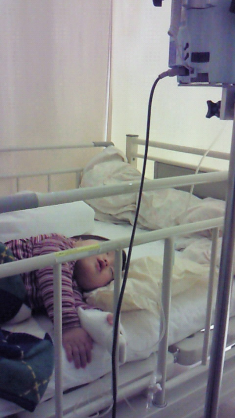 初入院でございますなこと。